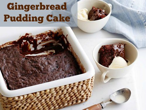 This Gingerbread Christmas Pudding Cake is a little different but yummy!