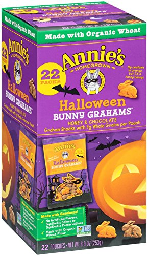 Halloween Bunny Honey and Chocolate Whole Grain Snacks