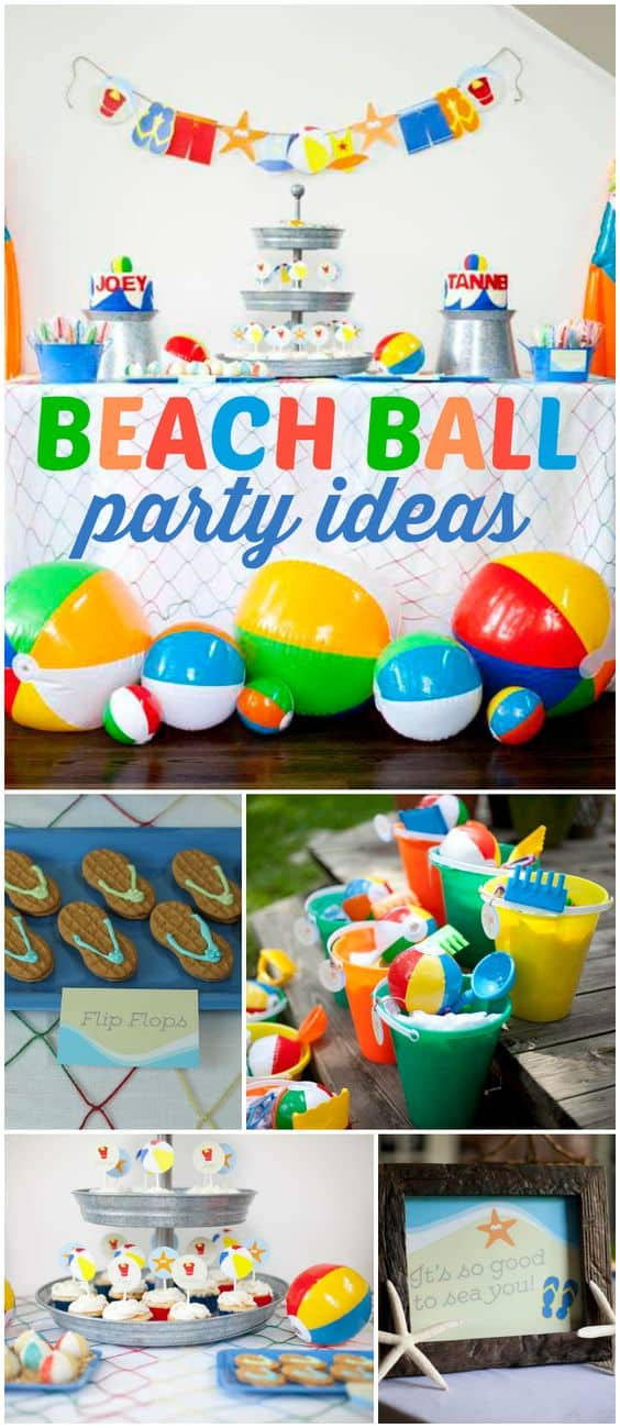 Beach Theme Party Decorating Ideas