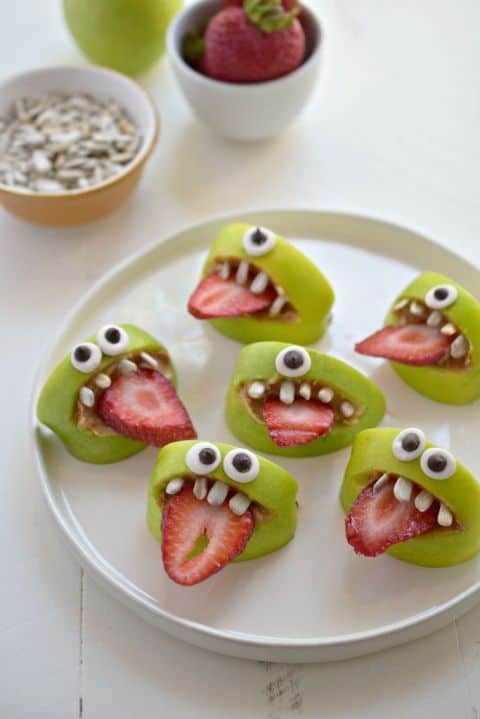 Creepily Creative Halloween Party Snacks that are Healthy as well.