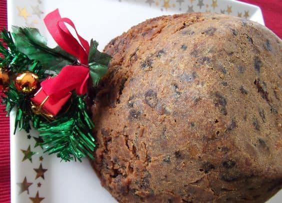 Delicious Crock-pot Christmas Pudding