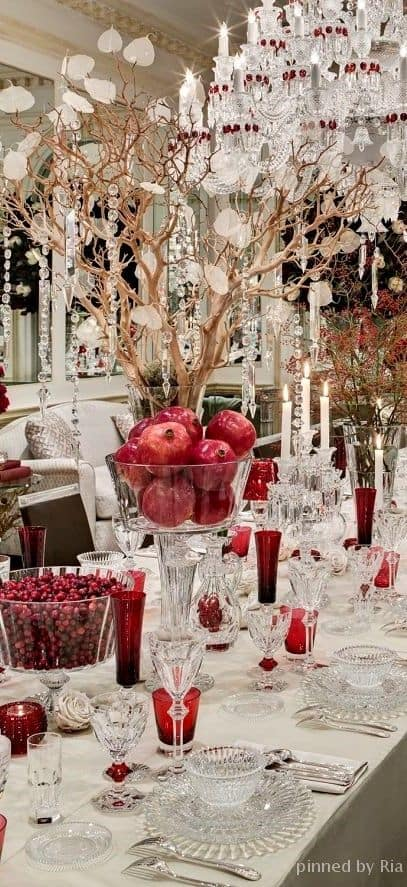 Crystal and Red are very classy but you do not have to be a millionaire to have it..
