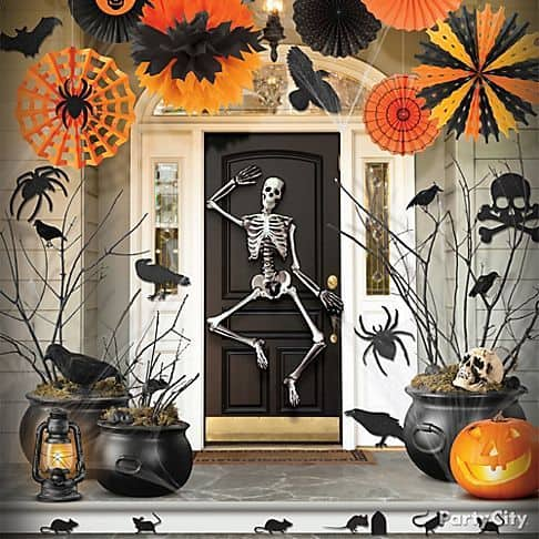 Need a little inspiration for your front porch this Halloween?