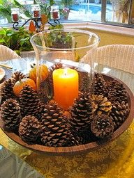 Easy DIY Centerpiece for any Thanksgiving Table