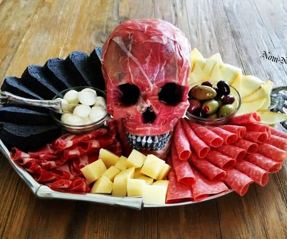This recipe is one of my personal favorites and has been my go-to Halloween appetizer for years. Not only is it delicious, it's creepily realistic, so realistic in fact kids are scared.