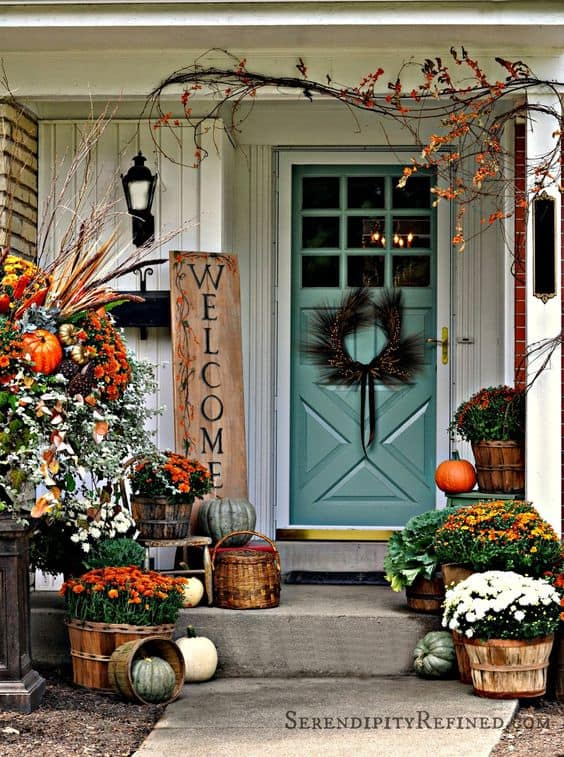 Front Porch Halloween Decoration Ideas January 2018