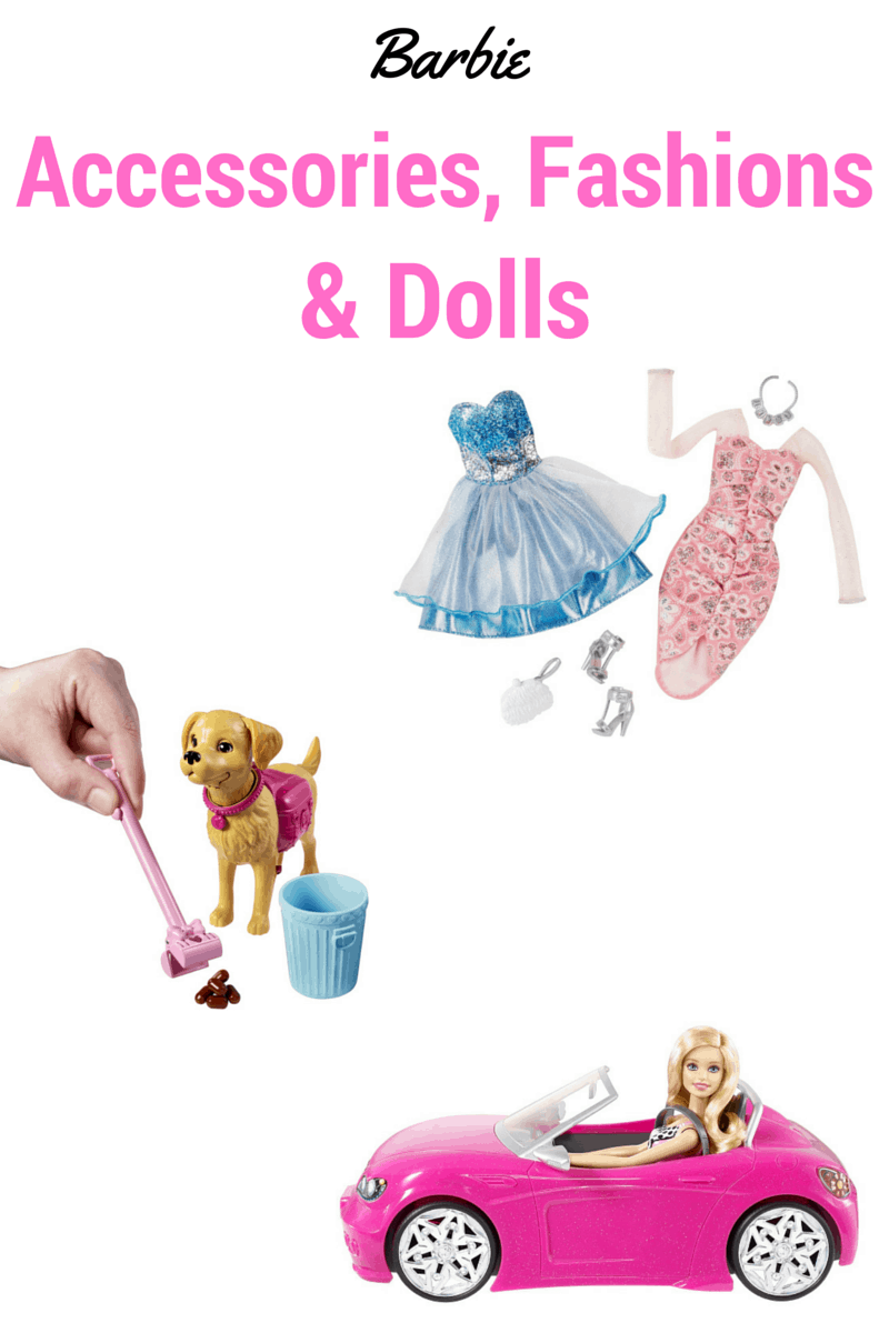 Barbie Accessories Fashions and Dolls