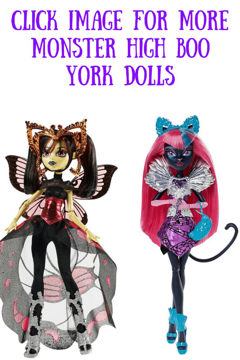 Monster High Boo York Dolls