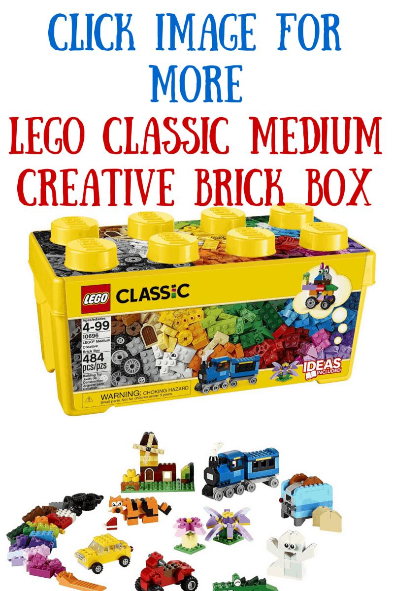 Lego Classic Mecium Creative Brick Box