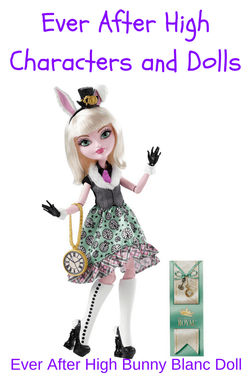 Ever After High Characters and Dolls - Hip Who Rae