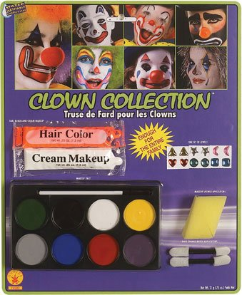 Costume Complete Clown Makeup Kit