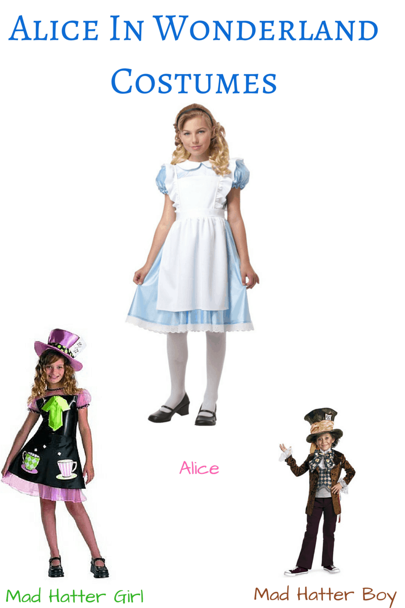 Alice In Wonderland Costumes For Kids Last Minute Alice In Wonderland Costume And Party Ideas