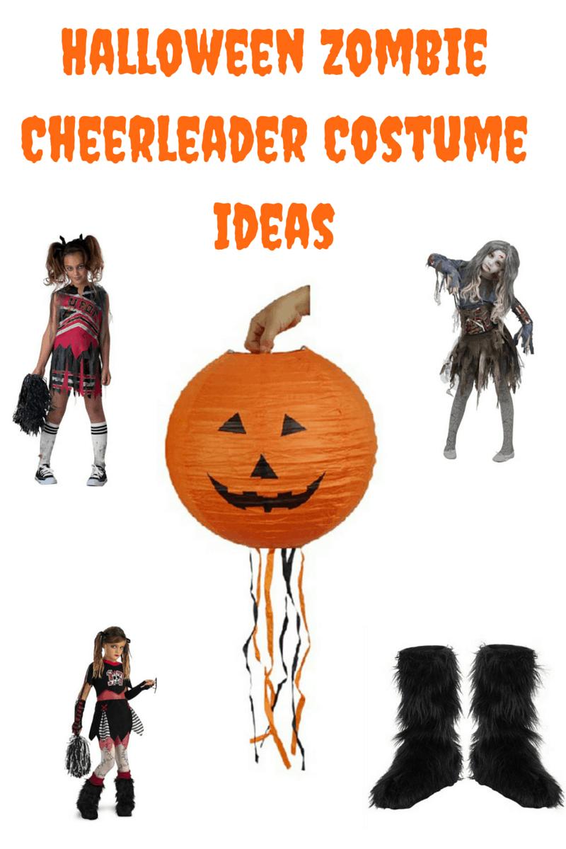 Halloween Zombie Cheerleader Costume