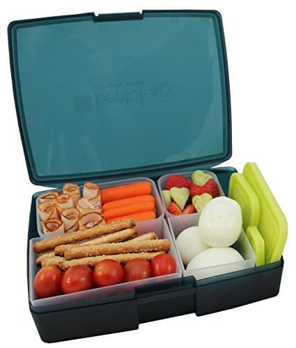 Leak-proof Bento Lunch Box with 5 Removable Containers