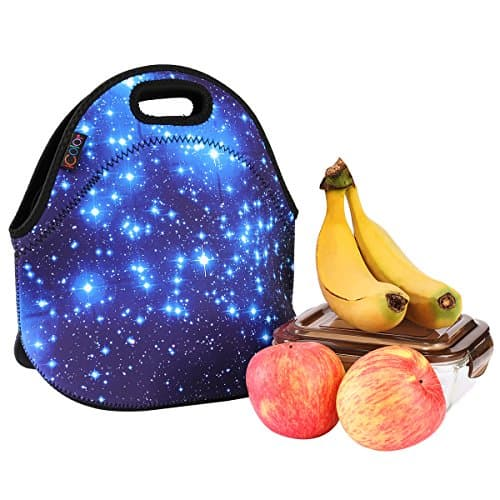 Blue Shining Stars Insulated School Lunch Totese