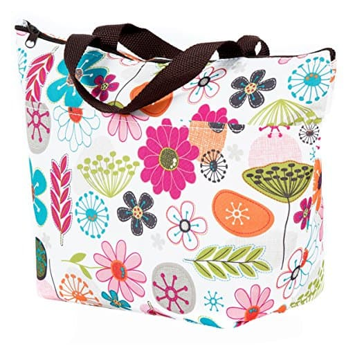 Flora Insulated Fashion Lunch Cooler Tote Bag