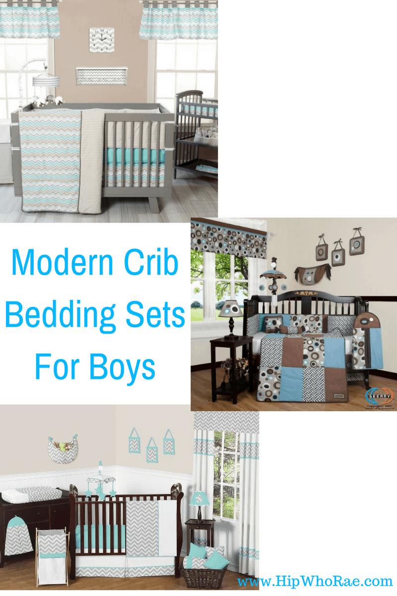Modern Crib Bedding Sets For Boys