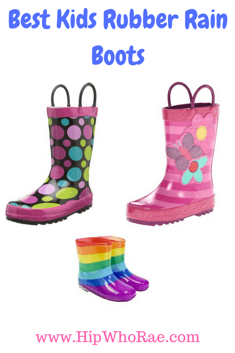 Best Kids Rubber Rain Boots