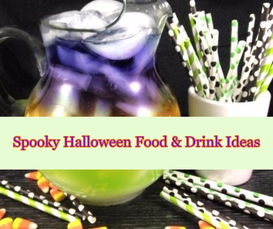 Spooky Halloween Food & Drink Ideas