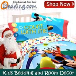 Kids Bedding and Room Decor at oBedding.com