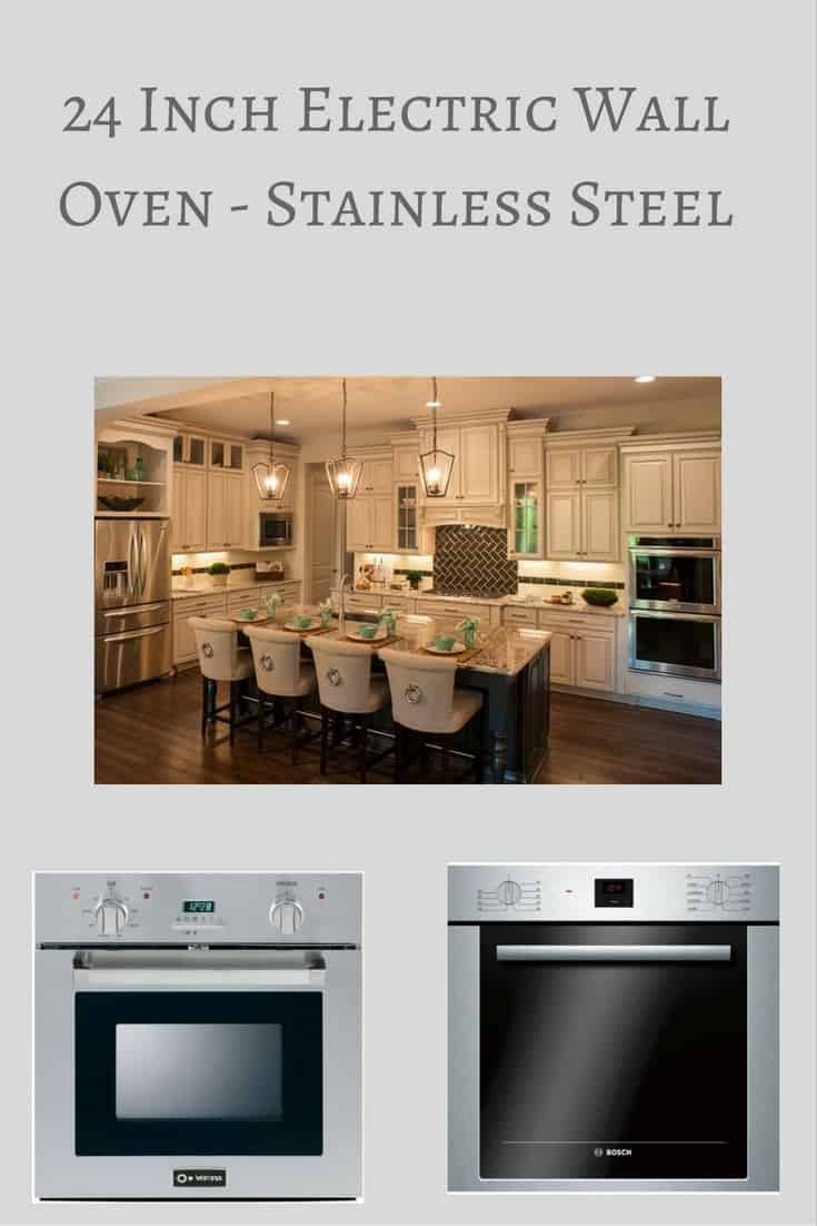 24 Inch Electric Wall Oven ~ Inch electric wall oven stainless steel hip who rae