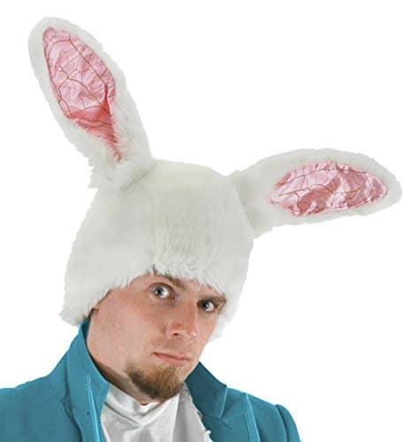 Alice In Wonderland White Rabbit Theme Party Hat Costume Accessory