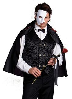 Need some Inspiration for Masquerade Masks and Costumes for Men