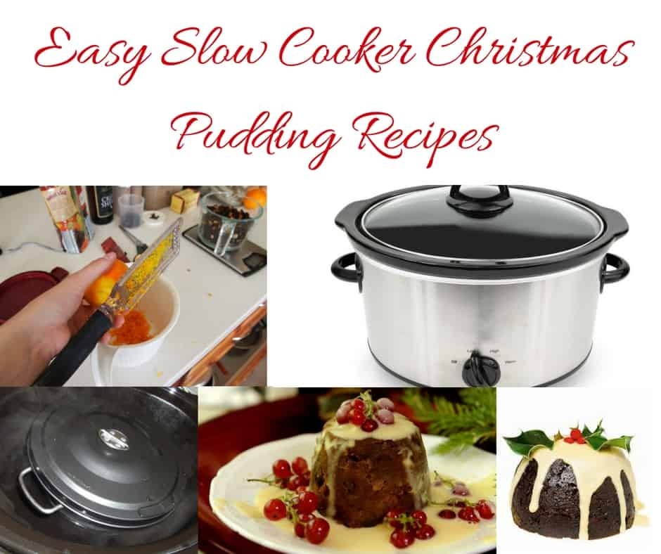 Easy slow cooker Christmas recipes