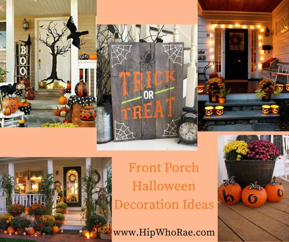 Front Porch Halloween Decoration Ideas Hip Who Rae