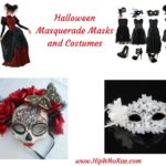 Halloween Masquerade Masks and Costumes