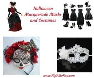 Halloween Masquerade Masks and Costumes