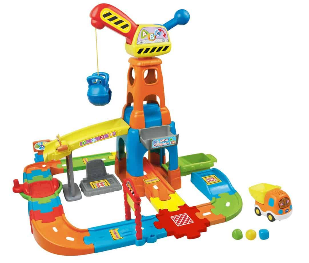 VTech Smart Wheels Constructon Playset for hours of fun