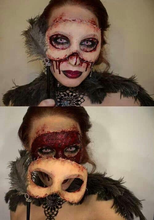 Very Scary Halloween Masquerade Mask for this years Halloween party