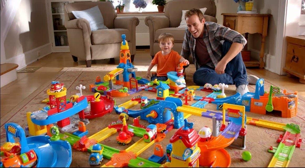 Multiple Vtech Smart Wheel toys for Little Kids for hours of Fun.