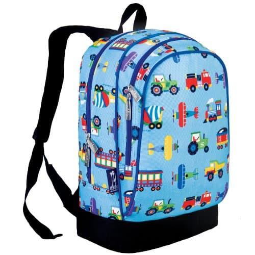 Olive Kids Trains, Planes and Trucks Sidekick Backpack