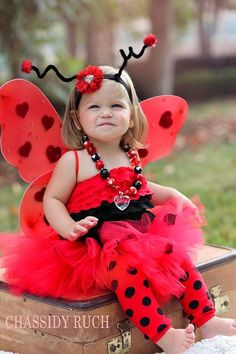 Adorable Lady Bug Toddler Costume I Just Love It