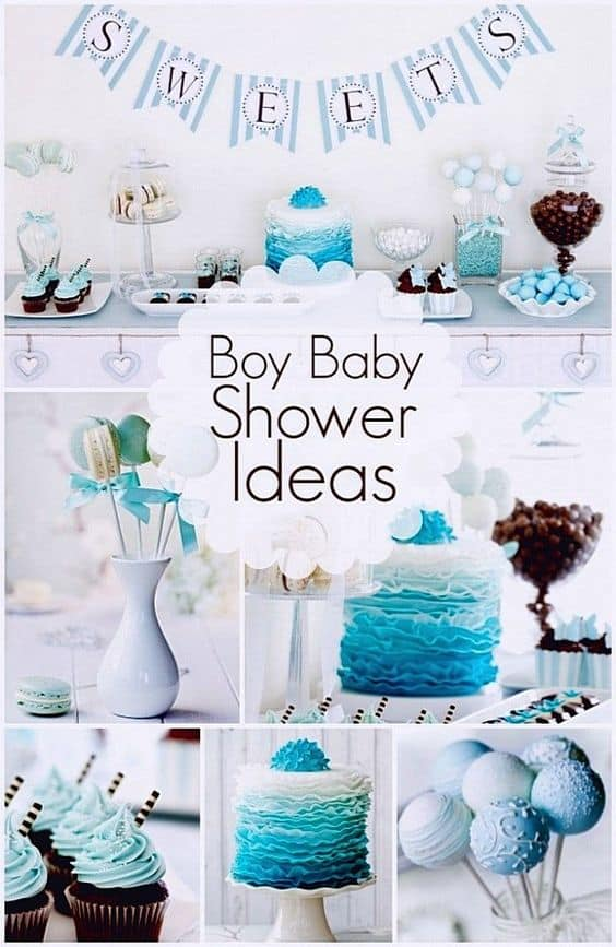 diy baby shower party ideas for boys august 2018 check. Black Bedroom Furniture Sets. Home Design Ideas