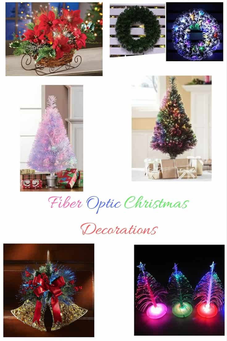 LOVe Christmas and I LOVE Christmas Decorations these Fiber Optic ones are awesome