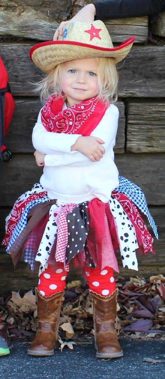 Adorable Little Cow Girl Costumes and gorgeous colors as well