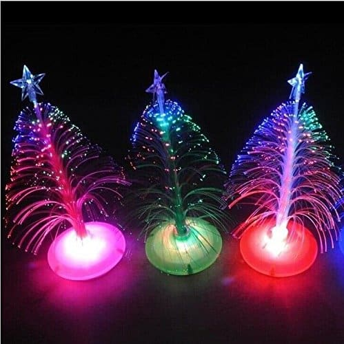 Fiber Optic Stars For Christmas Tree