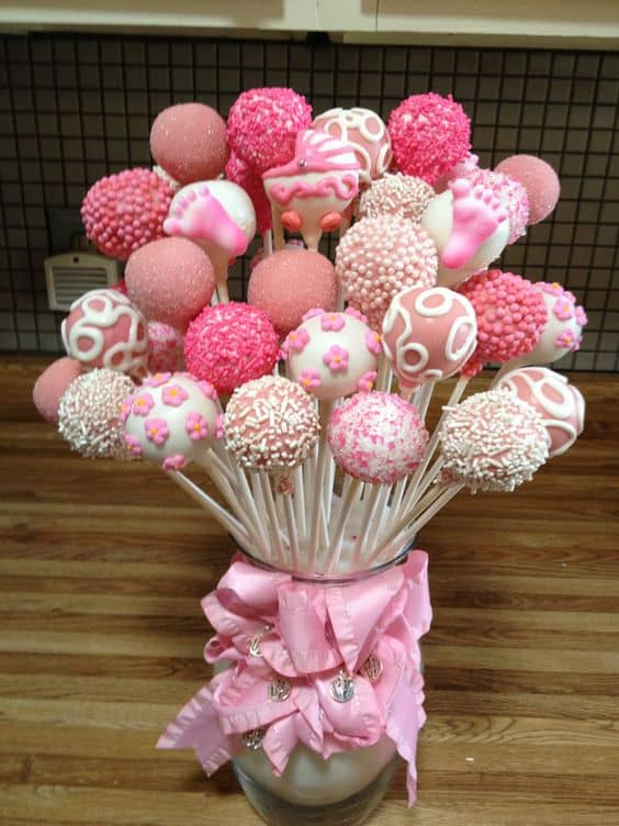 Cake Pops are so easy to make a look just gorgeous