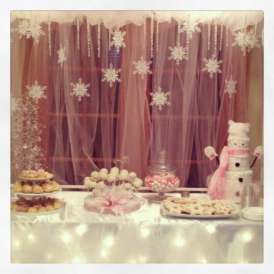 Winter Theme Baby Shower Just Devine