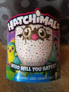 Hatchimals Teal top toy