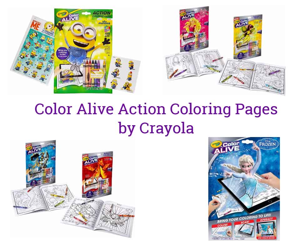 crayola action coloring pages - photo#5