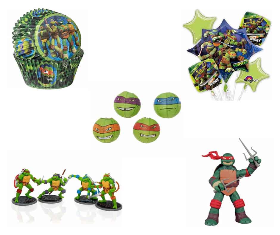Teenage Mutant Ninja Turtle Characters & Party Supplies