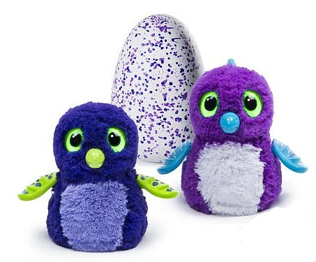 Hatchimals Draggles Blue/Purple Egg Toy