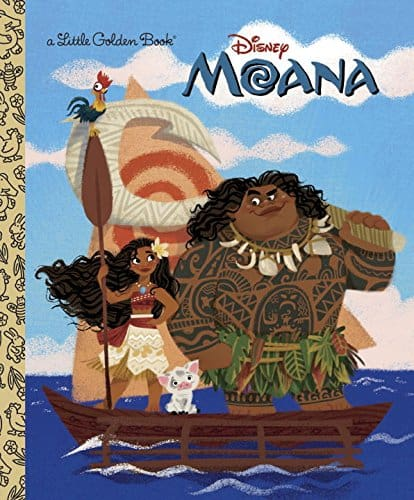 Little Golden Book Moana