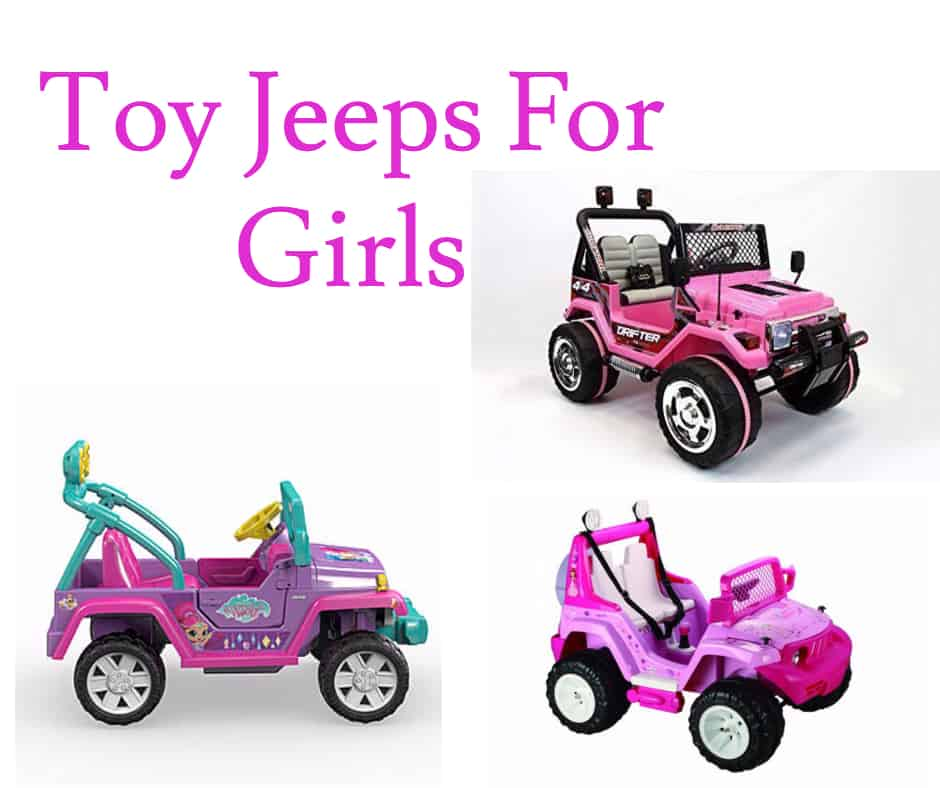 Toy Cars For Girls : Toy jeeps for girls hours of fun check them out here