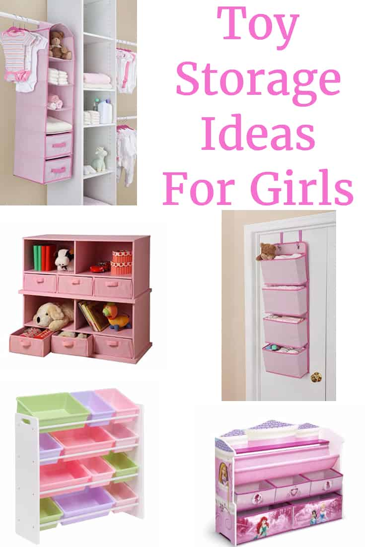 Toy Storage Ideas For Girls Getting Your Life Organized