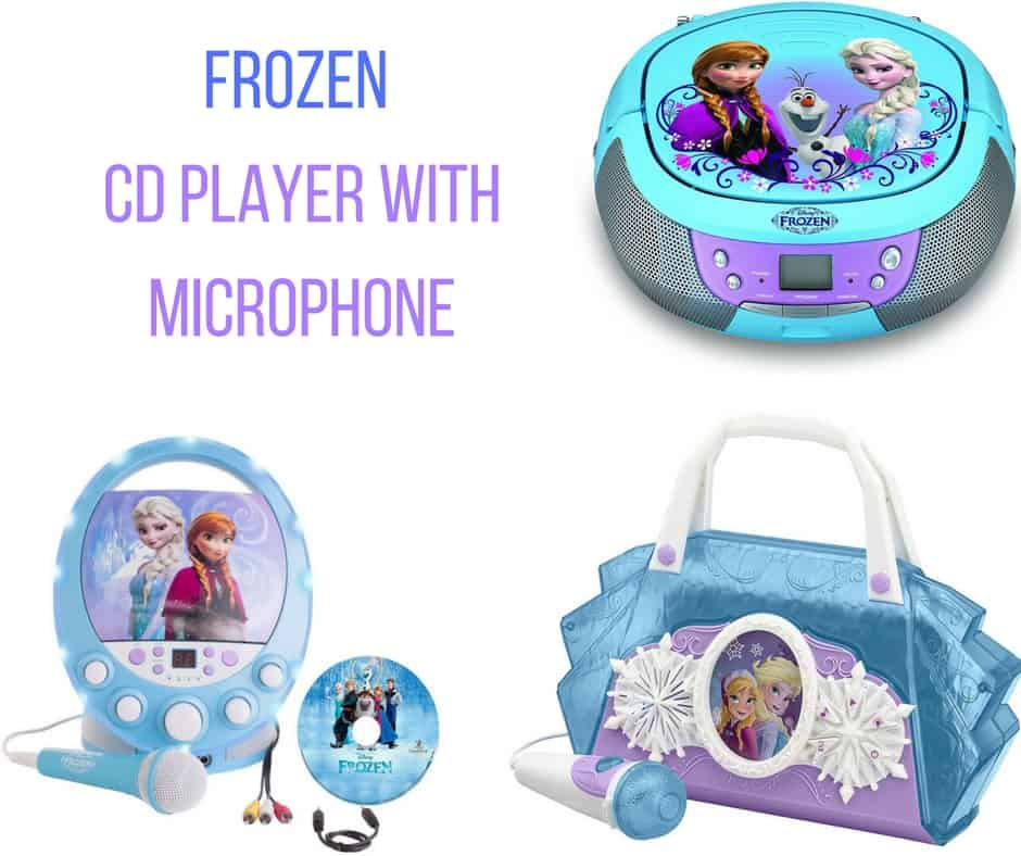 Frozen CD Player With Microphone